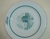 50s Shenango China Ford Motor Co Plate Logo Advertising Worlds Fair Rotunda 1953