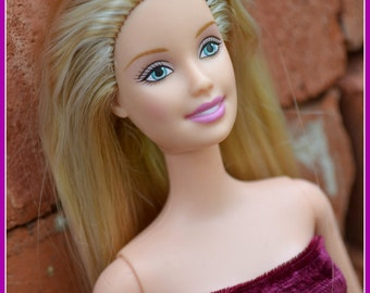 Ashes To Beauty Gem #4 Barbie Refurbished Restored Re-purposed Blonde Doll