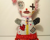 Handmade Art Doll ( Monster Pavlova)