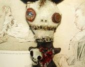 Handmade Art Doll (Voodoo Bessette)