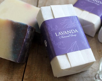 Lavender Natural Soap with Olive oil | Handmade soap | Bar soap | Organic soap