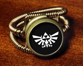 Steampunk Jewelry - Ring - Zelda