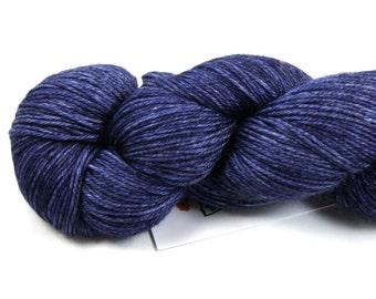 Night Shade--hand dyed sock weight yarn, merino and silk, (437yds/100gm)