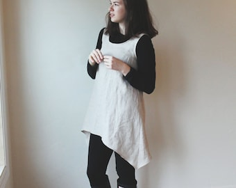 Linen tunic, top, dress, smock