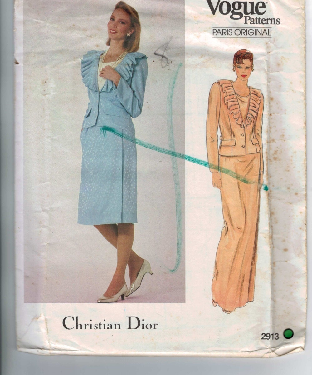 1980s Sewing Pattern V...