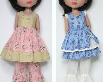 STRAIGHTFORWARD SEWING Pattern- SSP-038:  dresses, bloomers, and petticoat for Tonner Patience, Marley Wentworth & Agnes Dreary.