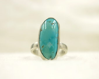 Simple Vibes Sterling Silver Turquiose Ring