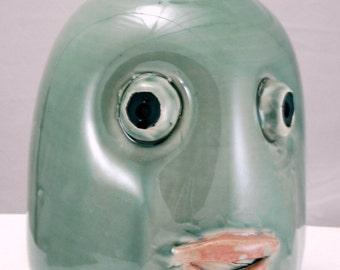 Trout Mask  jug decorative handmade