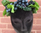 Bacchus Grape Crown Halloween Costume