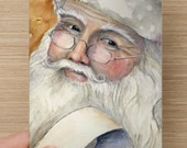 Christmas Card Santa List  Personalize them yourself