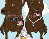 Reserved - Wedding Kelpies - Greeting Card