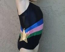 Toddler Gymnastic leotard, kids leotard, toddler leotard, gymnastics leotard, Princess leotard, unitard, custom fabric choice, custom design