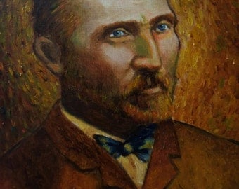 "Print - Vincent Van Gogh on Archival Paper 8""x10"""
