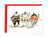 Deck the Halls - Funny Christmas Cat Card