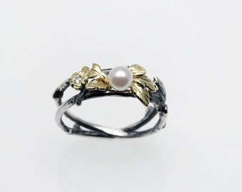 Sweet Pearl Eco-Ring