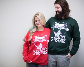 Christmas sweaters and Santa hats - Etsy