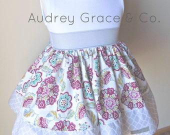 Girls Floral Summer Dress, Girls Party Dress, Toddler Girls Dress, Baby Girl Dress, Summer Dress, Girls Twirly Skirt Dress, T-shirt Dress