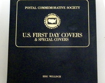 U.S. Postal 1st Day Special Covers w/Binder - 1979-1980 + Apollo 11 - 21 Pages, Stamp Collection, Commemorative Stamps