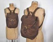 COACH Backpack Bookbag / black Leather bag