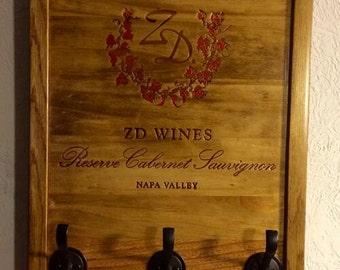 ZD Wine Crate Keyhook