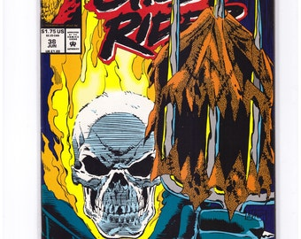 Ghost Rider Issue 38 in NM Condition 16-7-03