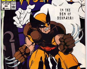 Issue 44 Wolverine Marvel Comics Presents in NM Condition 16-7-8