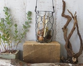 Hanging Wire Basket For Mason Jar