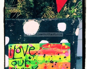 i Love Our Crazy Life- Original Abstract Painting