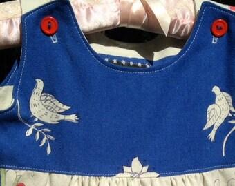 PA Dutch Tablecloth Dress