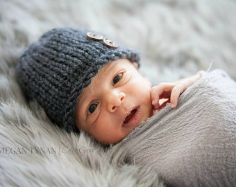 Newborn Boy Hat, Newborn Hat Boy, Newborn Photo Prop Boy, Knit Newborn Hat, Newborn Boy Props, Newborn Beanie Newborn Props Boy Baby Boy Hat