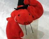 Dapper Lobster Plush Toy(Resirved for conny)
