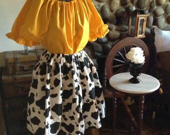 Toy Story Jessie Ladies Women's Adult Skirt Halloween Costume Disney Trip