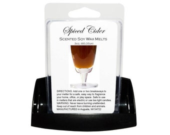 SPICED CIDER Soy Wax Melts - Wax Tarts - Candle Tarts - Melting Tart - Scented Tart - Tart Melt - Wax Melt - Clamshell - Dye Free