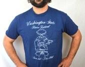 Vintage 80s 1980 Rainbow Seattle Rain Festival Funny Sweatshirt