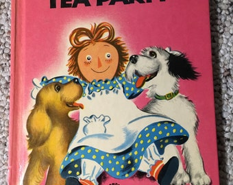 1954 Wonder Books Raggedy Ann's Tea Party