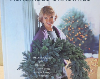 The Best of Martha Stewart Living Handmade Christmas Vintage Book
