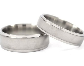 titanium rings for him and her matching wedding rings titanium bands 8rc - Titanium Wedding Rings For Her