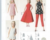 "11 1/2"" Doll Clothes Pattern by Burda #6960 for Barbie Dolls, Brand new and uncut"