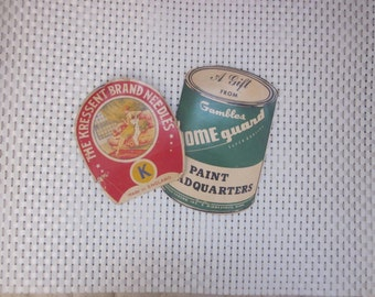 OLD SEWING NEEDLES Packets Collectible