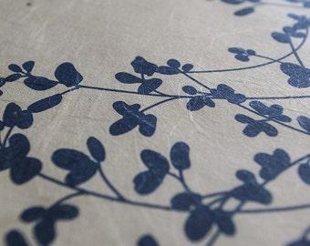 Japanese Washi Ketubah Print by Jennifer Raichman - Sprigs