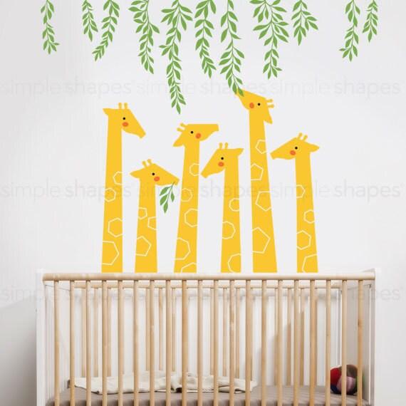 Wall Decals By Design : Giraffe wall decal baby nursery designs by