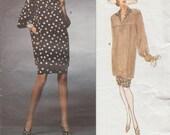 Vogue 1111 / Paris Original / Vintage Designer Sewing Pattern By Yves Saint Laurent / Skirt And Top / Sizes 12 14 16