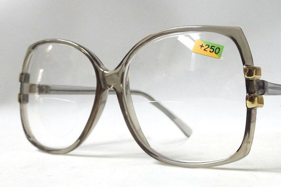 vintage 1980 s eyeglasses 250 reading glasses