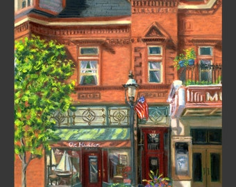 Tarrytown Music Hall with Corner Shop by Ronnie Levine