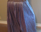 4yd Purple Lavender embroidered Tafetta Pantaloon Harem Pant bellydance belly dance ats tribal fusion