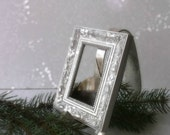 Silver Plated Easel. Picture Frame Easel. Business Card Display. Menu Display*Charming Altered Vintage Fork Easel. Shabby Chic Cottage Decor
