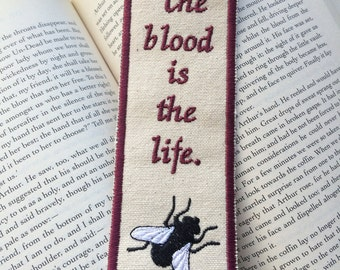 Dracula, The Blood is the Life Bookmark