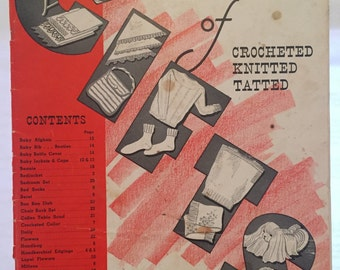 Star Book No. 15, Star Book of Gifts: Crocheted, Knitted, Tatted by American Thread Company