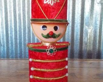 Vintage Berman & Anderson Musical Soldier Christmas Music Box