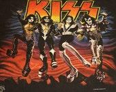 Kiss Alive 20 year Tour T Vintage original 96  Large